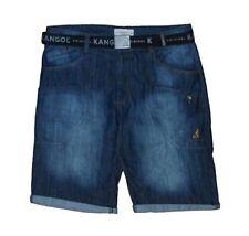Kangol Herren Denim Mehrere Taschen Shorts (Brock) Taille 107to137cm
