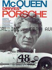 Steve McQueen 1970 Porsche Sebring Phoenix race ca 8 x 10 print prent poster