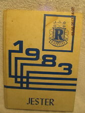 1983 Yearbook New Harmony High School IN Great Photos Covers Grades 7 Thru 12