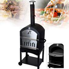 Forno Da Giardino Per Pizza Barbecue A Carbone Per Cuocere Grigliare Con Camino