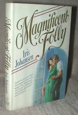 MAGNIFICENT FOLLY Iris Johansen LOVESWEPT 1989 HC/DJ Stated First Edition MINTY