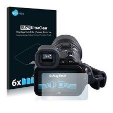 6x Film Protection écran pour JVC GC-PX100BEU Protecteur