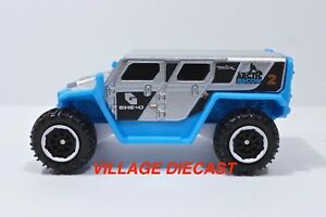 """2018 Matchbox """"Ice Voyagers"""" Ghe-O Rescue SILVER / BLUE / ARCTIC RECON / MINT"""