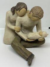 Willow Tree New Life Mom Dad & Baby Newborn Collectible Figurine Susan Lordi