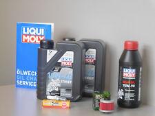 Sistema de mantenimiento APRILIA LEONARDO 125 Filtro de aceite bujía Inspección