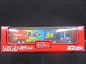1993 Racing Champions Nascar Transporter # 24 Jeff Gordon -- 1/64th scale