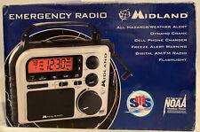 MIDLAND ER102 EMERGENCY CRANK WEATHER RADIO NEW IN BOX