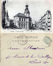 01 Bourg (Bourg en Bresse) Hotel des Postes - 1906