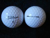 """20  TITLEIST """"PRO V1"""" Golf Balls - """"A MINUS  / B PLUS"""" Grades."""