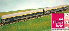 Ls Models 72026 SNCB set 2x coche-cama, Type p ab-30 Inox/azul exten ep5 nuevo + embalaje original