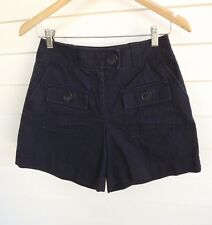 Country Road Women's Blue Shorts with Pockets - Size 6