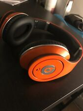 Casque Écouteurs Monster Beats studio by Dr Dre couleur orange