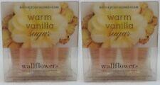 4 Bath & Body Works WARM VANILLA SUGAR Wallflower Pack Oil Bulb Refills