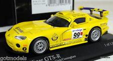 MINICHAMPS 1/43 - 400 991499 DODGE VIPER GTS-R BRITISH GTC 1999 CLARK CUNNINGHAM