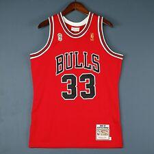 100% Authentic Scottie Pippen Mitchell & Ness Bulls Finals Jersey Size Mens 40 M