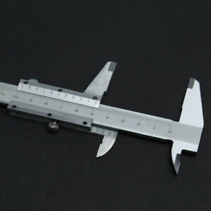Stainless Steel Metal 150mm Vernier Caliper Micrometer Gauge Measurement #k