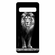 For Samsung Galaxy S10 Silicone Case Lions Photo Cat - S1733