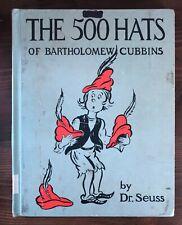 THE 500 HATS of BARTHOLOMEW CUBBINS Dr. Seuss Vintage Cadmus EM Hale