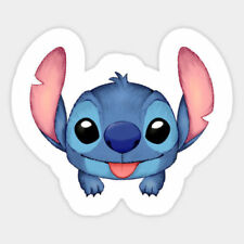 Lilo and Stitch Tongue Funny Vinyl Wall Bumper Bottle Phone Decal Decor Sticker