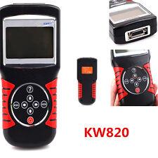 OBDII OBD2 EOBD KW820 Vehicle Car Engine Fault Code Reader Diagnostic Scanner