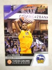 2015-16 Upper Deck Turkish Airlines EuroLeague Int'l Auto Base /49 - Pick Player
