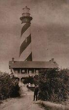 St. Augustine Lighthouse Anastasia Island Florida, Light & Museum Fl - Postcard