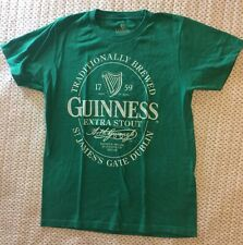 Guinness Beer Graphic Tee Green T-Shirt Small