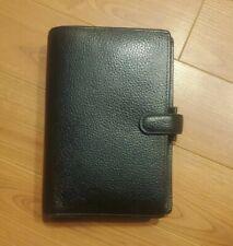 Filofax Personal Sized Finsbury Black Organiser 025302