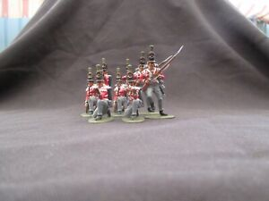 BRITISH LIGHT INFANTRY WATERLOO  NAPOLEONIC CALL TO ARMS painted like airfix
