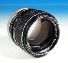 Canon Lens FD 1:1.8/85 S.S.C. für Canon FD - Objektiv Lens Objectif - (202993)
