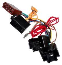 Adaptador cable enchufe ISO para autoradio compatible con Chevrolet Saab