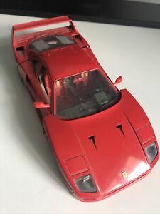 voiture de collection Ferrari F40 1987 Burago Scale 1/18
