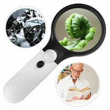 GPCT Handheld 45X/3X Magnifying Magnifier Glass