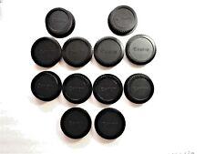 12 x Canon Camera Body Caps/Rear Lens caps for Canon DSLR/SLR Cameras/EOS lens