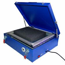 Techtongda 1 Pc 110v Uv Exposure Unit Silk Screen Printing Led Light Box 21x25