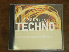 ESSENTIAL TECHNO Compil 2 CD
