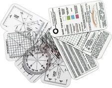 ESEE COMPASS-CARDS Izula Gear Compass Cards 7-Card Set