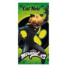 Toalla playa Ladybug Cat Noir