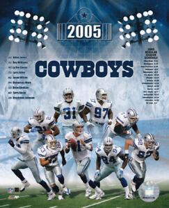 Dallas Cowboys 2005 Team Composite 8x10 Photo Drew Bledsoe Keyshawn Johnson