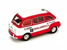 FIAT 600D MULTIPLA 1960 AMARO 18 ISOLABELLA  BRUMM R410
