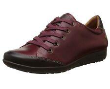 Pikolinos Women's Lisboa W67 I16 Leather Trainers Red Size: 7 UK 41 EU