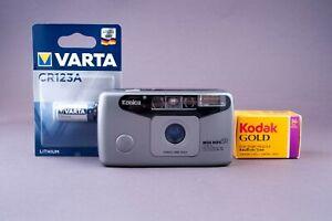 Konica Big Mini SR BM100  35mm Point & Shoot Film Camera Tested