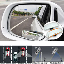 2X Universal Car Rear View Mirror 360° Rotating Wide Angle Convex Blind Spot NEW