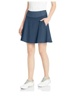 "PUMA Golf 2020 Women's Pwrshape Solid Woven Skirt 18"" Dark Denim Size XS, NWT"