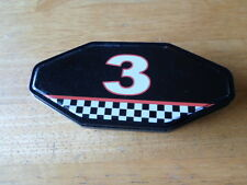"""Race car # 3 Pocket Knife 2.25"""" Blade, 440 stainless, made in china"""