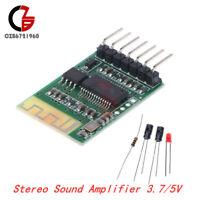 Bluetooth 4.0 Audio Receiver Board DIY Wireless Stereo Sound Amplifier DC3.7V/5V