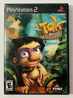 Tak and the Power of Juju  Sony PlayStation 2  2003 Complete with Manual