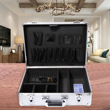 Silver Aluminum Hard Cases Briefcase Portable Tool Box With Baldric Amp Dividers