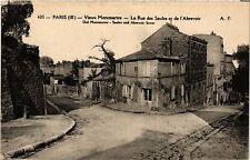 CPA Paris 18e Vieux Montmartre La Rue des Saules et de l'Abrevoir (284652)