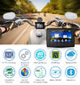 "5.0"" Zoll Bluetooth Motorrad Navigationsgerät Auto GPS Wasserdicht +Europa Karte"